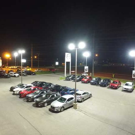 auto dealership LED, car dealership LED, LED retrofit auto dealer, LED retrofit car lot, saveONenergy dealership lighting