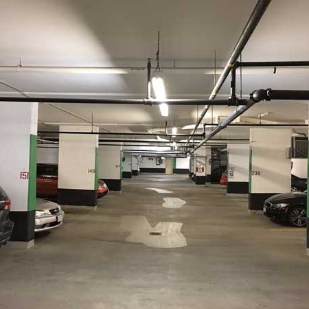 Garage LED retrofit, LED garage lights, Condominium parking LED, condo parking LED, condo LED retrofit, condominium LED retrofit