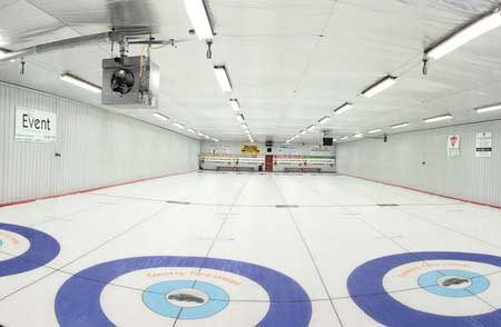 LED lighting for Curling Rinks; Curling Rink LED, LED retrofit curling, curling club LED upgrade,