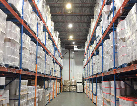 refrigerated warehouse LED high bay lighting
